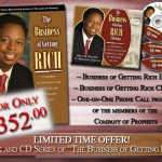 The Business of Getting Rich
