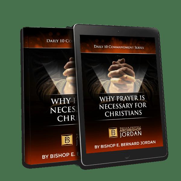 WHY PRAYER IS NECESSARY mockup